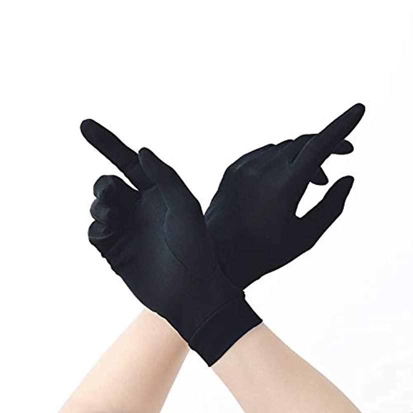のホスト腫瘍海洋の保湿 夏 ハンド 手袋 シルク 紫外線 日焼け防止 手荒い おやすみ 手触りが良い ケア レディース