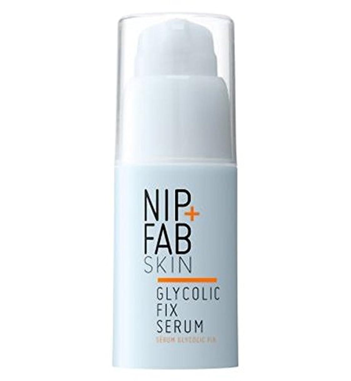 乱れマージ明確に+ファブグリコール修正血清30ミリリットルニップ (Nip & Fab) (x2) - Nip + Fab Glycolic Fix Serum 30ml (Pack of 2) [並行輸入品]