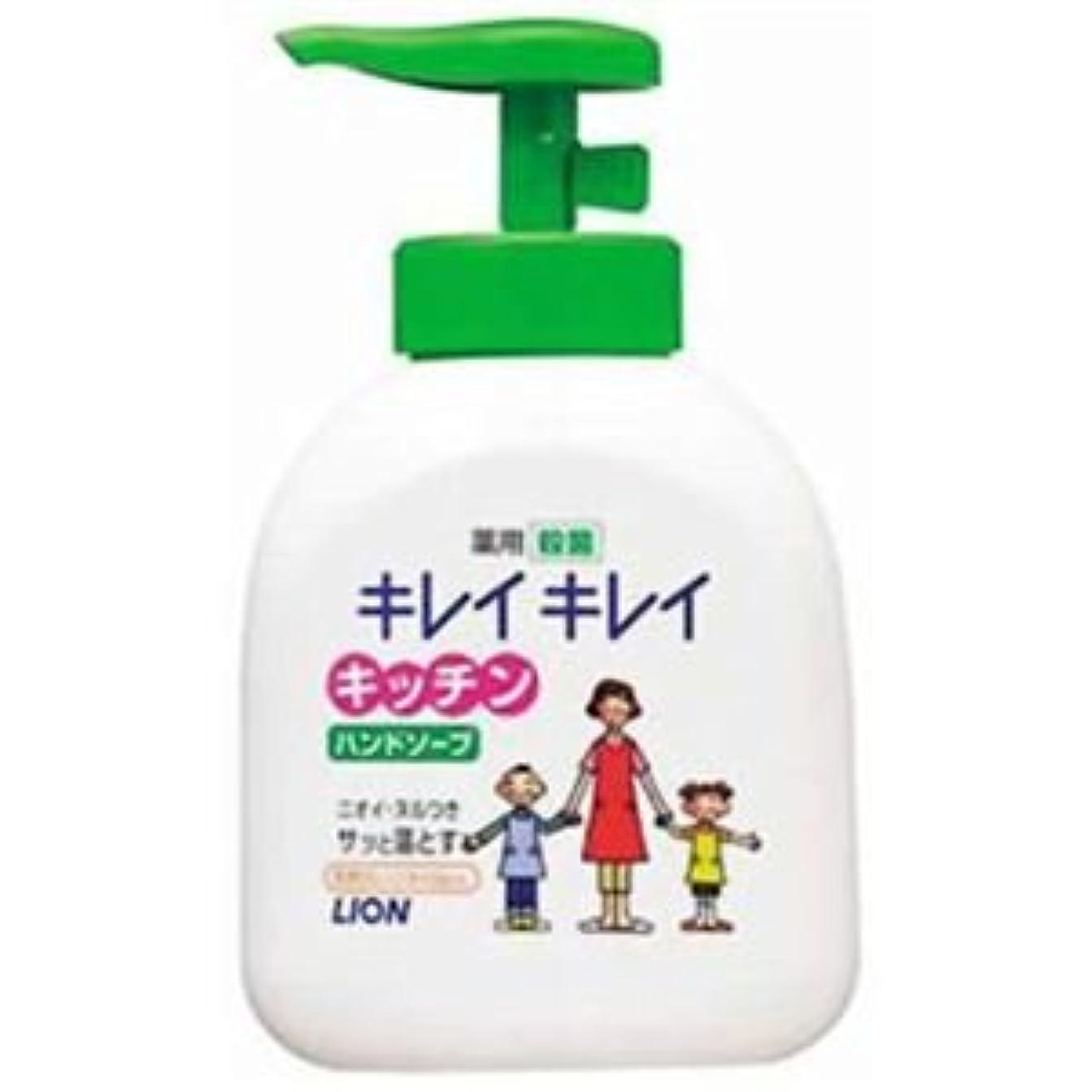 ぬいぐるみピニオンハブキレイキレイ 薬用キッチンハンドソープ 250ml 5セット