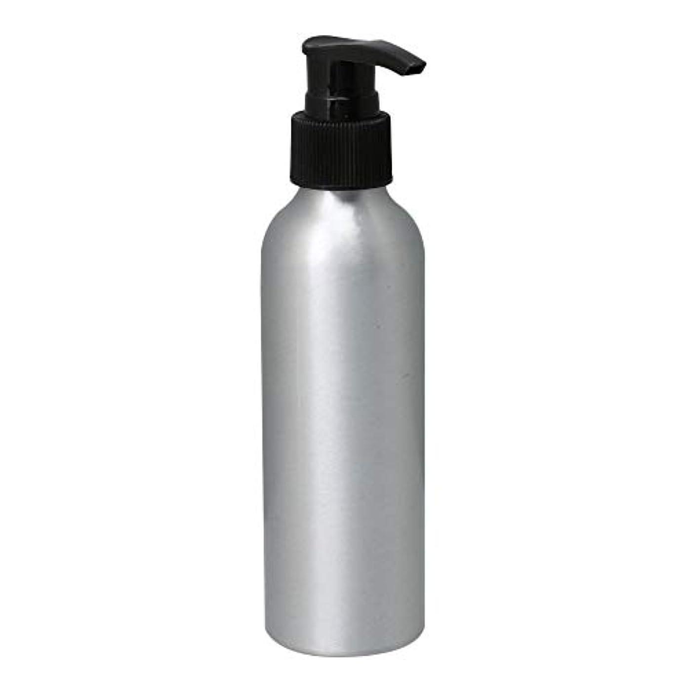 宿命時間オプションポンプボトル 150ml コスメ用詰替え容器 詰め替え用ボトル アルミボトル 繰り返し使用 噴霧器 アルミボトル 黒ポンプヘッド