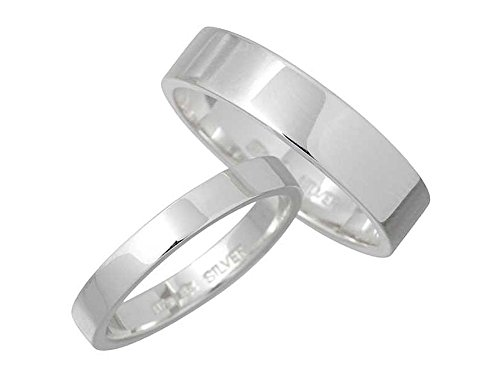 Magische Vissen マジェスフィッセン シルバー ペア リング 指輪 1~25号 OZR-007-008-P