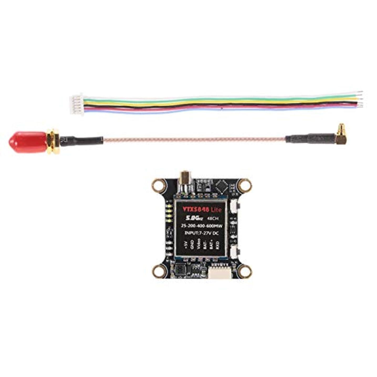 補う調整可能ステートメントDeeploveUU FPV RCマルチコプター用の切替可能VTXビデオ送信機モジュール制御モデル