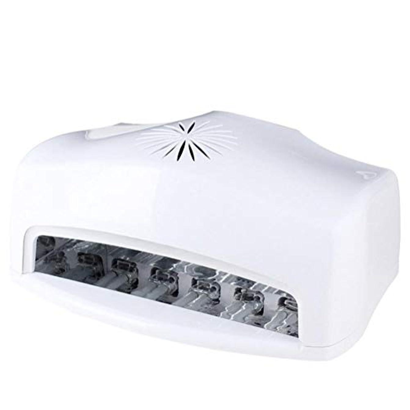 幻想最終ベール54W LED UVネイルランプネイルドライヤーライトマシン両手で硬化ジェルネイルポリッシュネイルアートマニキュアツール90秒/120秒/180秒/240秒/300秒タイマー設定、ファン