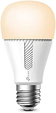 TP-Link Kasa Smart Wi-Fi Light Bulb, Dimmable, No Hub Required, E27 Lamp Base, Control from Anywhere, Works wi