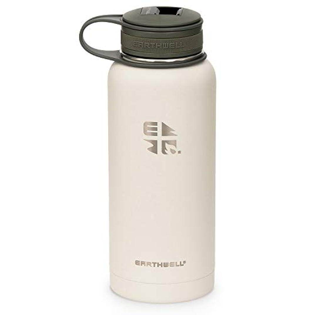 歴史家銀行汚いEARTHWELL(アースウェル) 32oz KEWLER OPENER Insulated Bottle 946ml【Baja Sand】