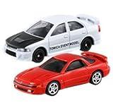 2台セット トミカ イベントモデル トミカ博 三菱 ランサー エボリューションⅣ + トミカプレミアム 18 三菱 GTO ツインターボ