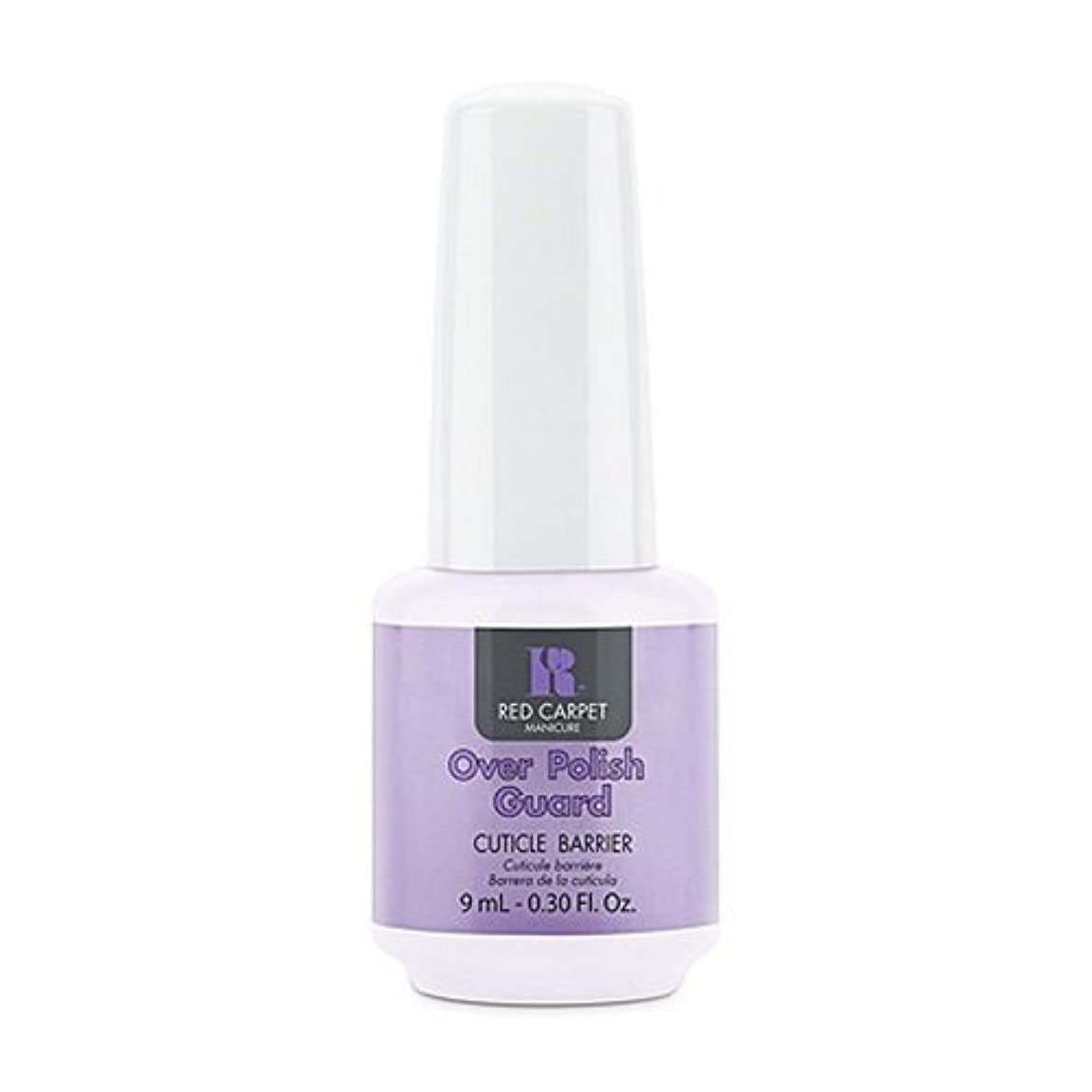 リスク屋内で縮約Red Carpet Manicure - Nail Treatments - Over Polish Guard - 0.3oz / 9ml