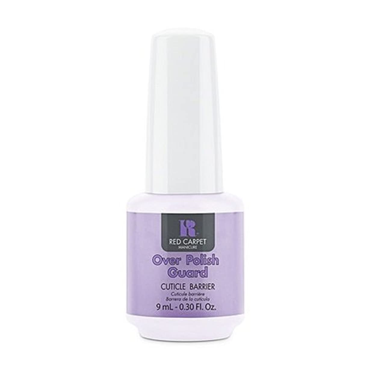 禁止頻繁に矩形Red Carpet Manicure - Nail Treatments - Over Polish Guard - 0.3oz / 9ml