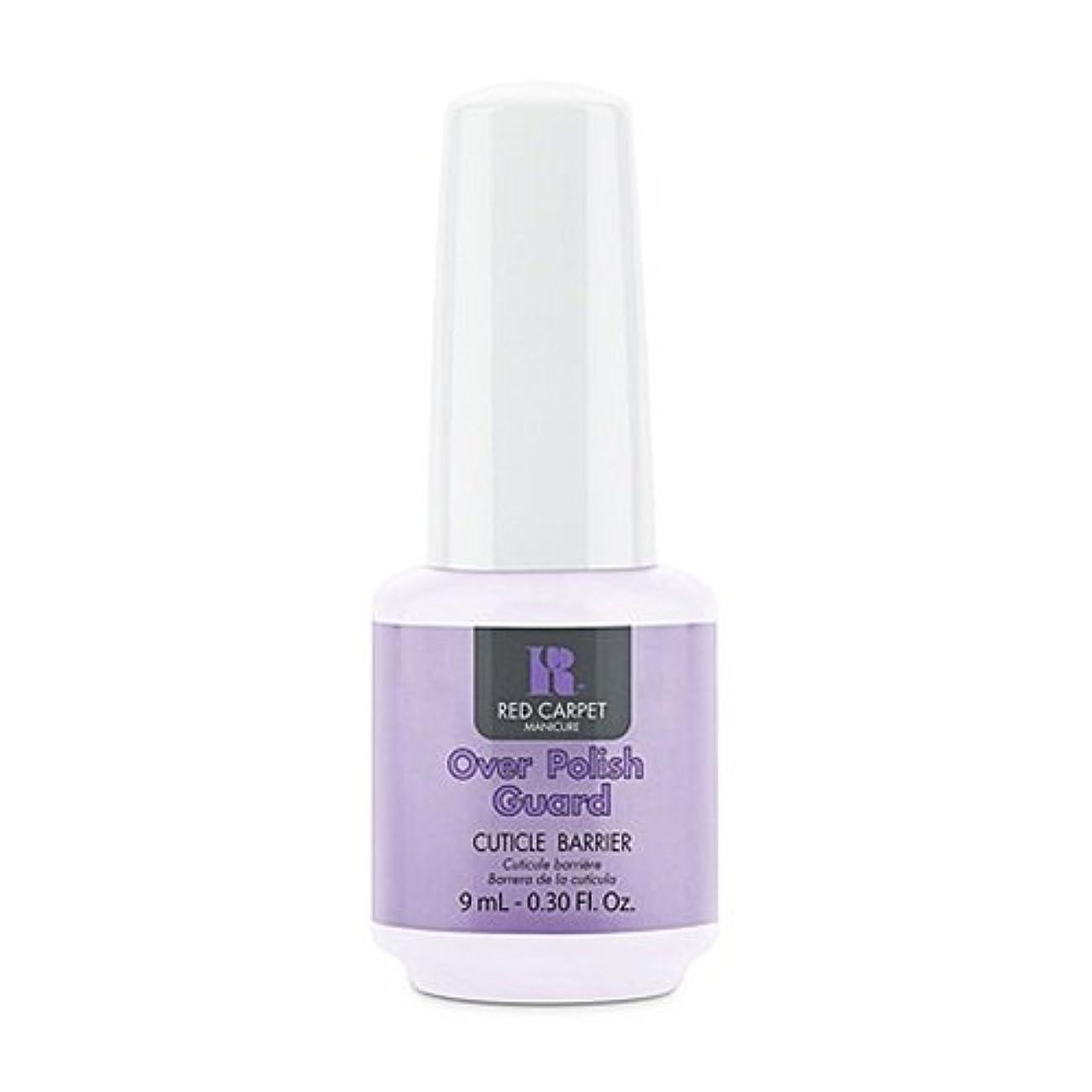 吸い込むほとんどの場合こっそりRed Carpet Manicure - Nail Treatments - Over Polish Guard - 0.3oz / 9ml