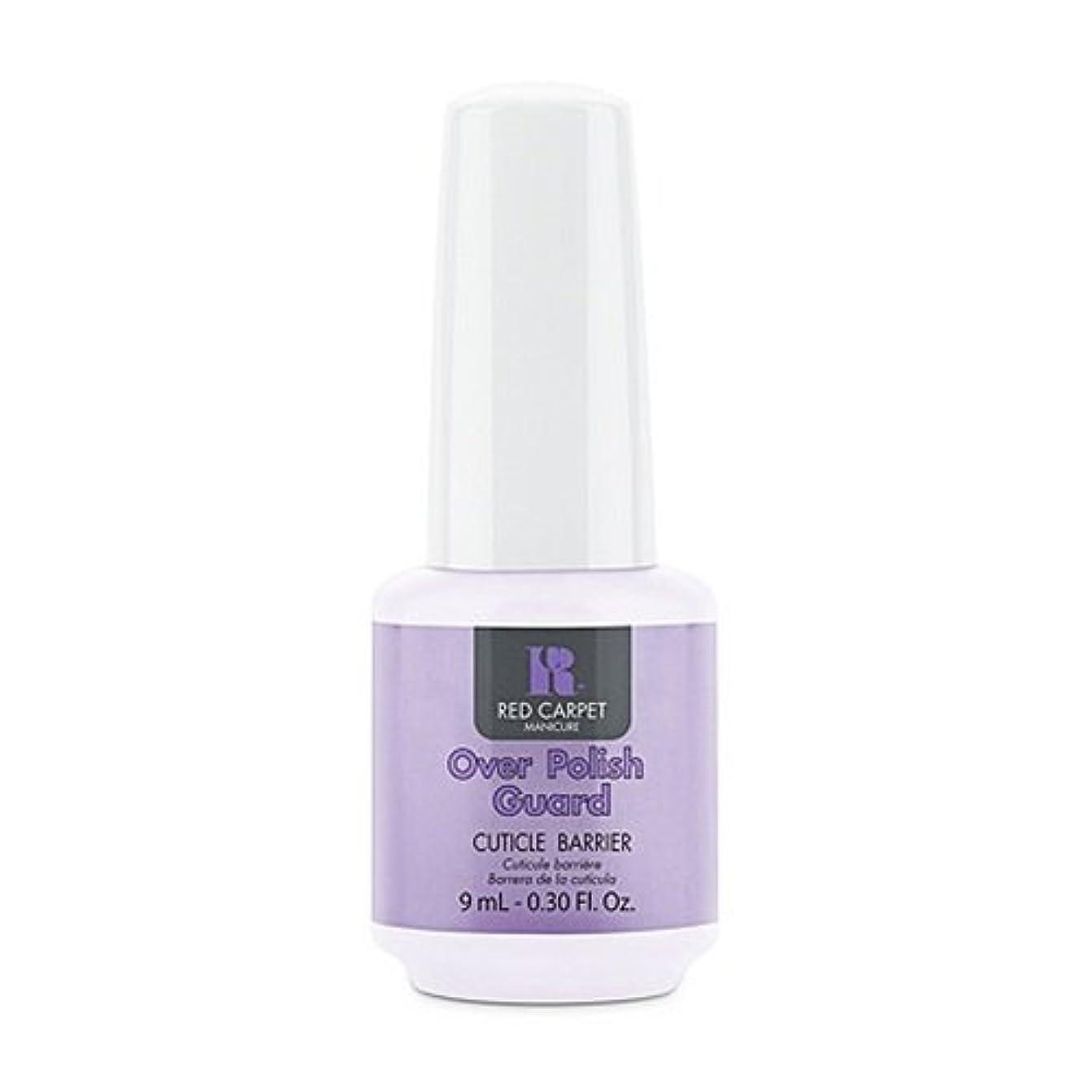 チューブローズ不名誉Red Carpet Manicure - Nail Treatments - Over Polish Guard - 0.3oz / 9ml