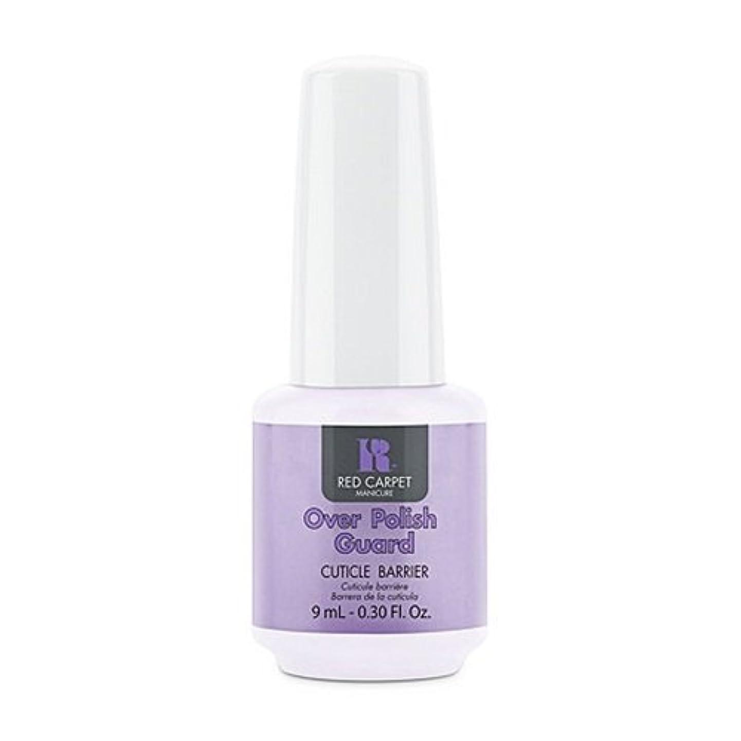 量を除くオールRed Carpet Manicure - Nail Treatments - Over Polish Guard - 0.3oz / 9ml