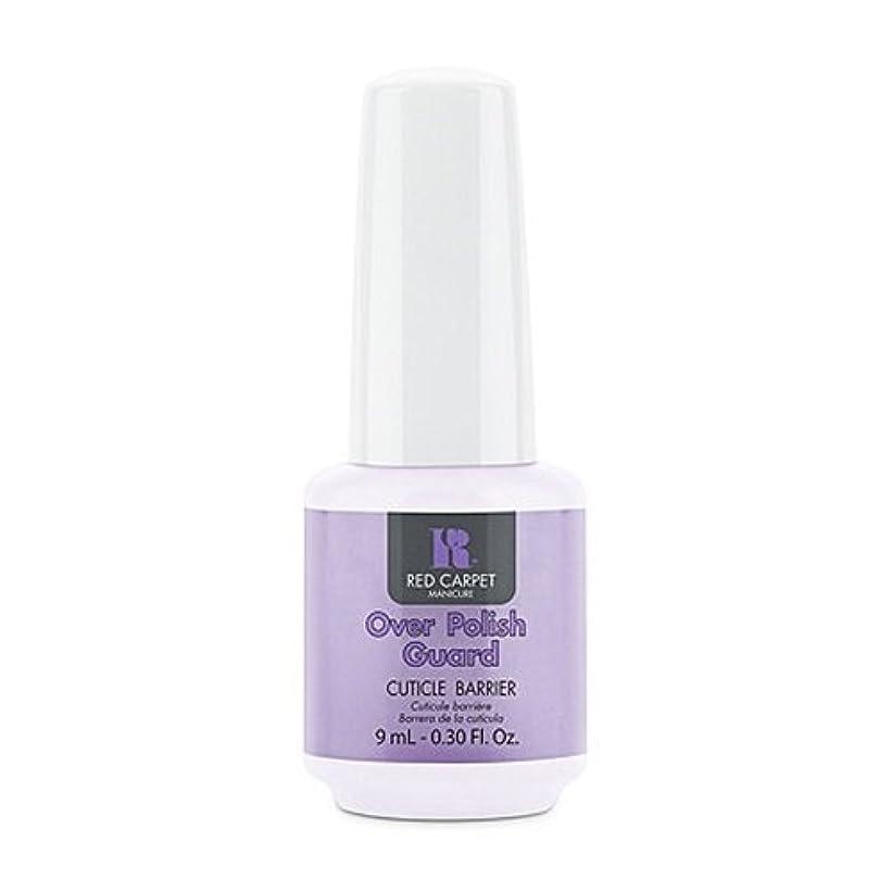 導入するコーン太いRed Carpet Manicure - Nail Treatments - Over Polish Guard - 0.3oz / 9ml