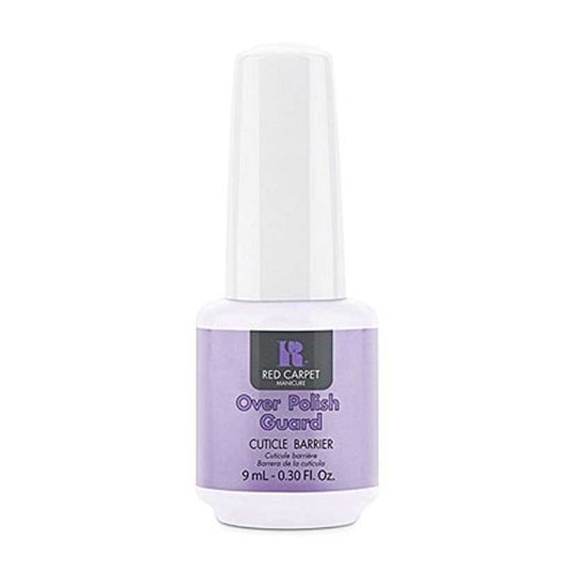 反対する本能スナッチRed Carpet Manicure - Nail Treatments - Over Polish Guard - 0.3oz / 9ml