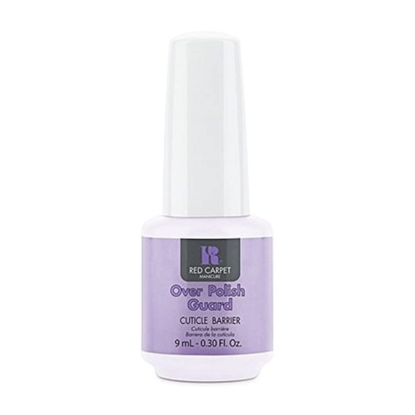 折るやるホイールRed Carpet Manicure - Nail Treatments - Over Polish Guard - 0.3oz / 9ml
