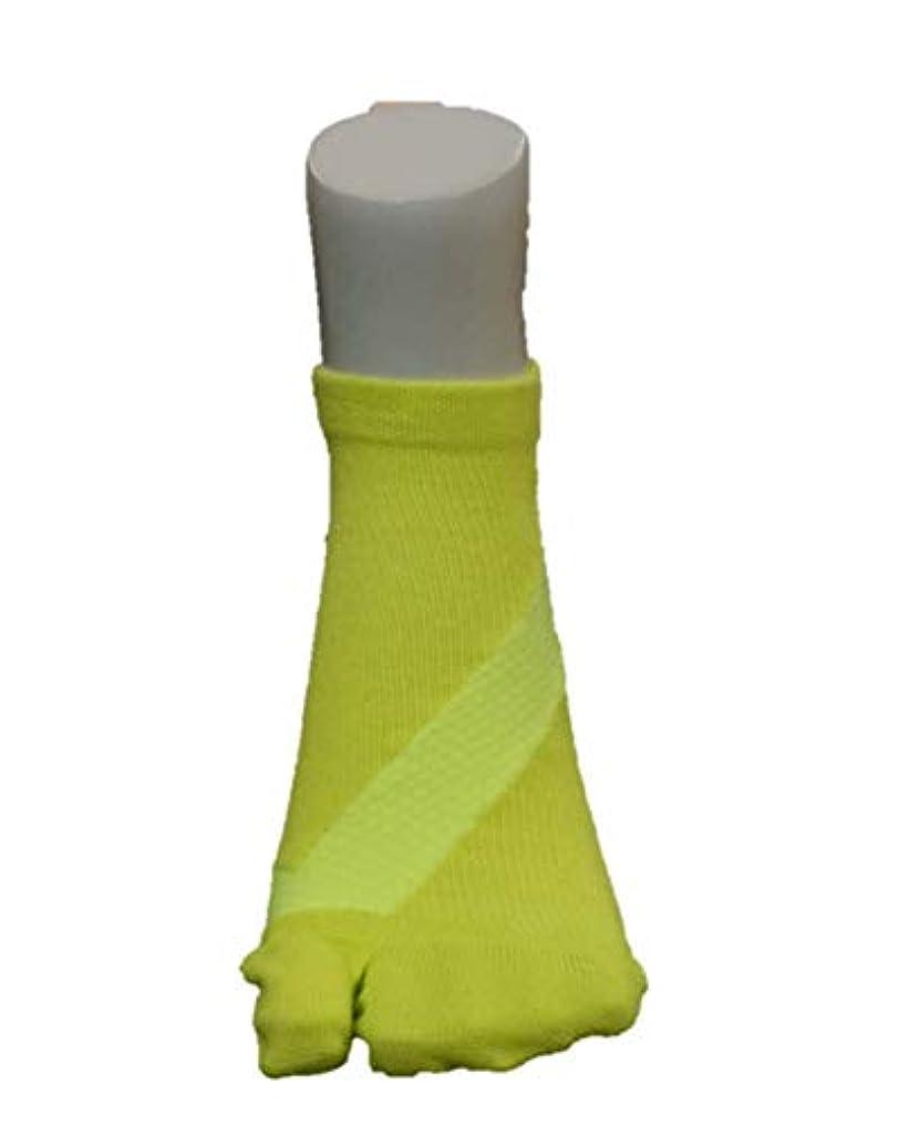 さとう式 フレクサーソックス アンクル 黄色 (S 22-24)