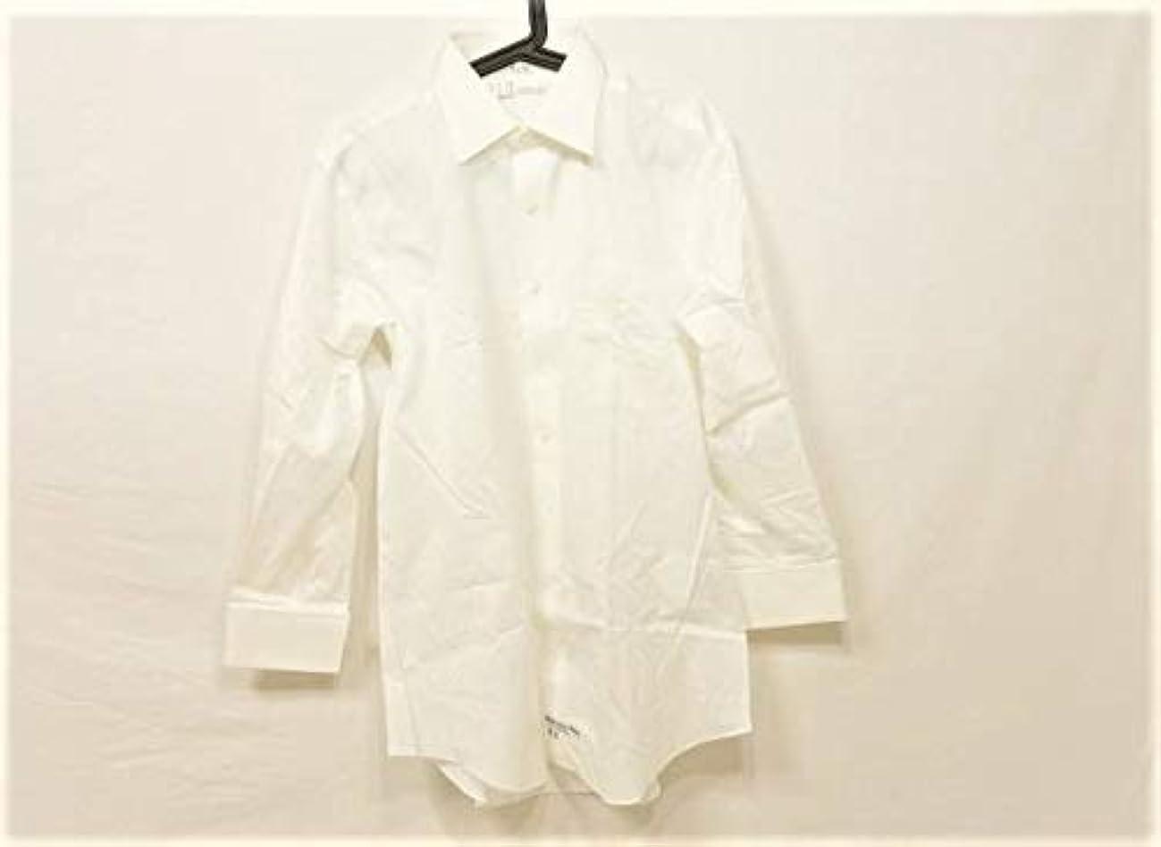助けて輝くぬいぐるみ(ダンヒル) Dunhill シャツ 長袖シャツ メンズ 白 【中古】