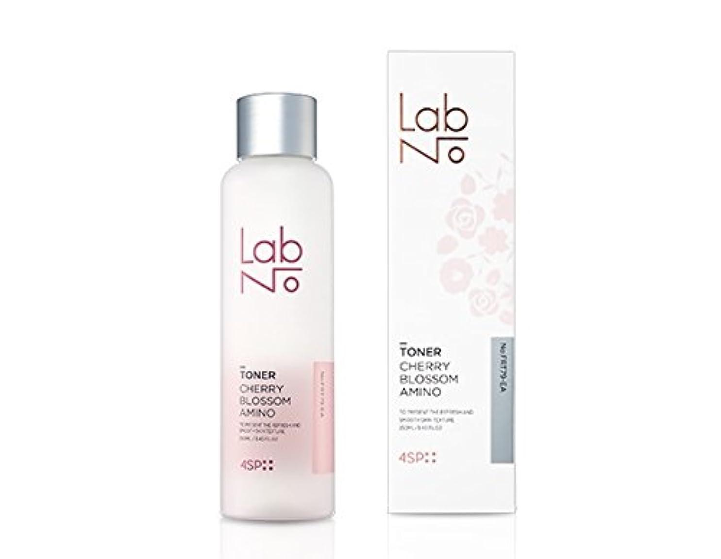 保安きらめくホイットニー[LabNo.]4SP チェリ ブロッサム アミノ トナー/4SP Cherry Blossom Amino Toner (250ml) [並行輸入品]