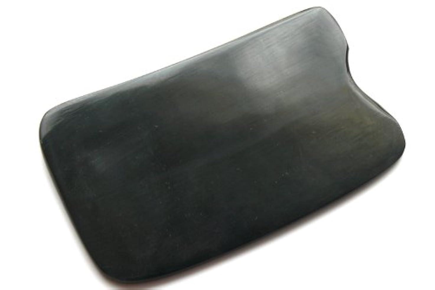 バリー羨望中断かっさ板、美容、刮莎板、グアシャ板,水牛角製