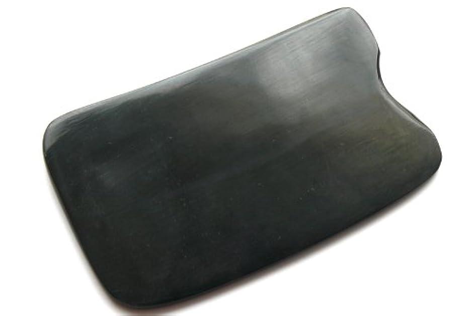 祝福する実装する外向きかっさ板、美容、刮莎板、グアシャ板,水牛角製