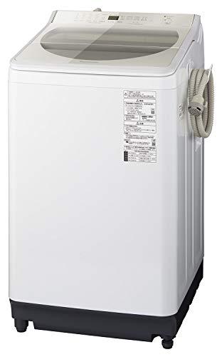 パナソニック 10kg 全自動洗濯機 泡洗浄・パワフル立体水流 シャンパン NA-FA100H7-N