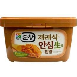 【スンチャン】テンジャン 1kg ■韓国食品・韓国食材・韓国調味料 ・スンチャンデンジャン・韓国味噌・味付■