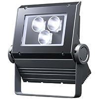 岩崎 LEDioc FLOOD NEO(レディオック フラッド ネオ) LED投光器 90クラス 狭角タイプ 電球色タイプ 本体色:ダークグレイ LED一体形 ECF0998L/SAN8/DG