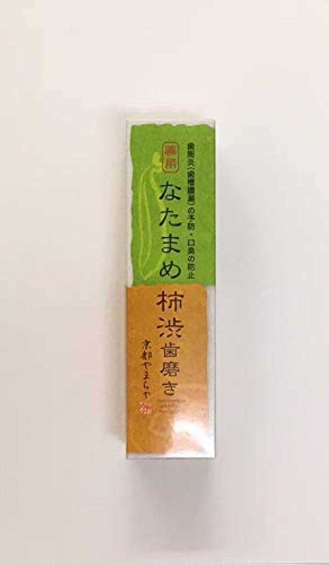 召喚する洗練された円周なたまめ柿渋歯磨き 120g