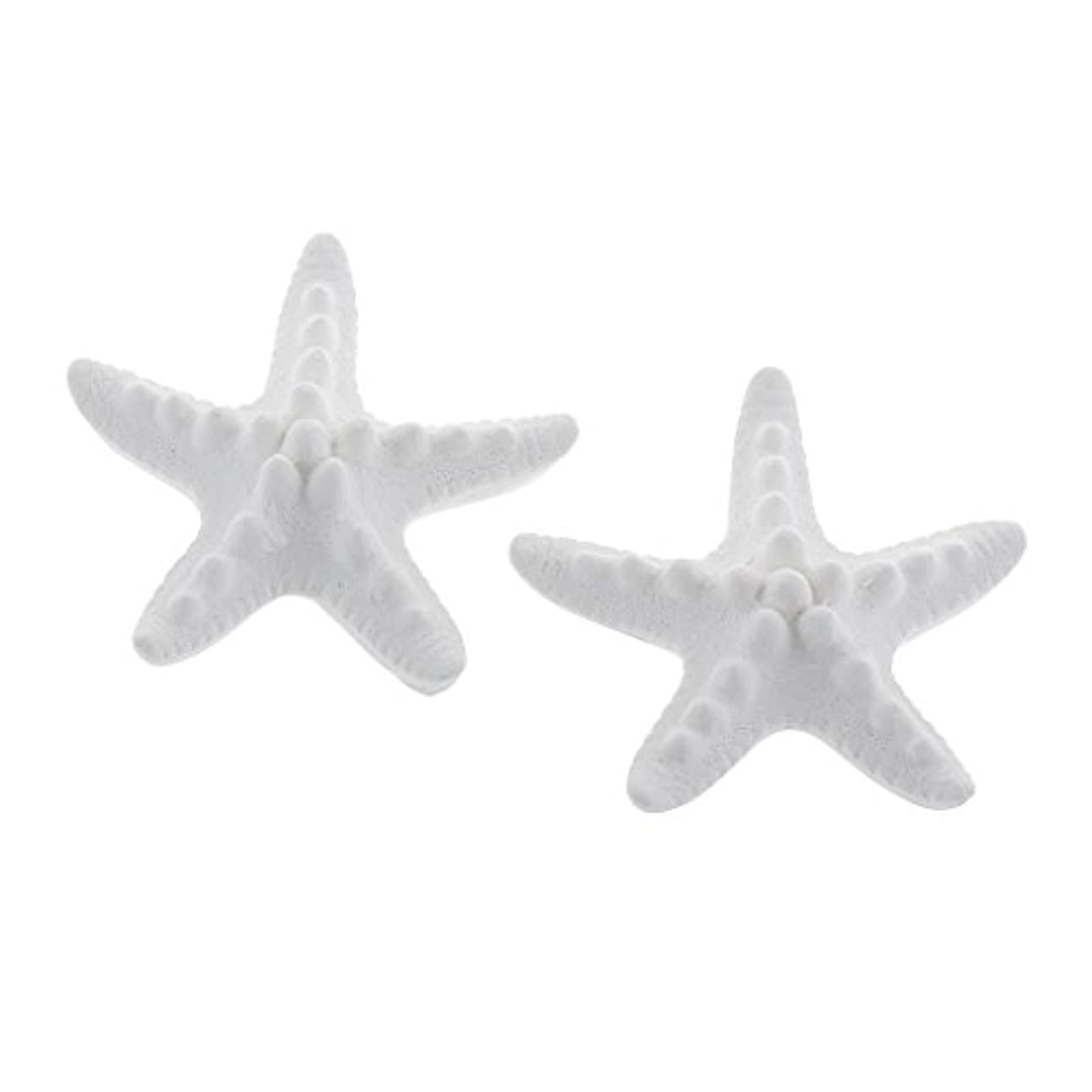 会社癒すコンテストFLAMEER 家の装飾のための2個のSeastarの香りの芳香の石DIYの精油の拡散器