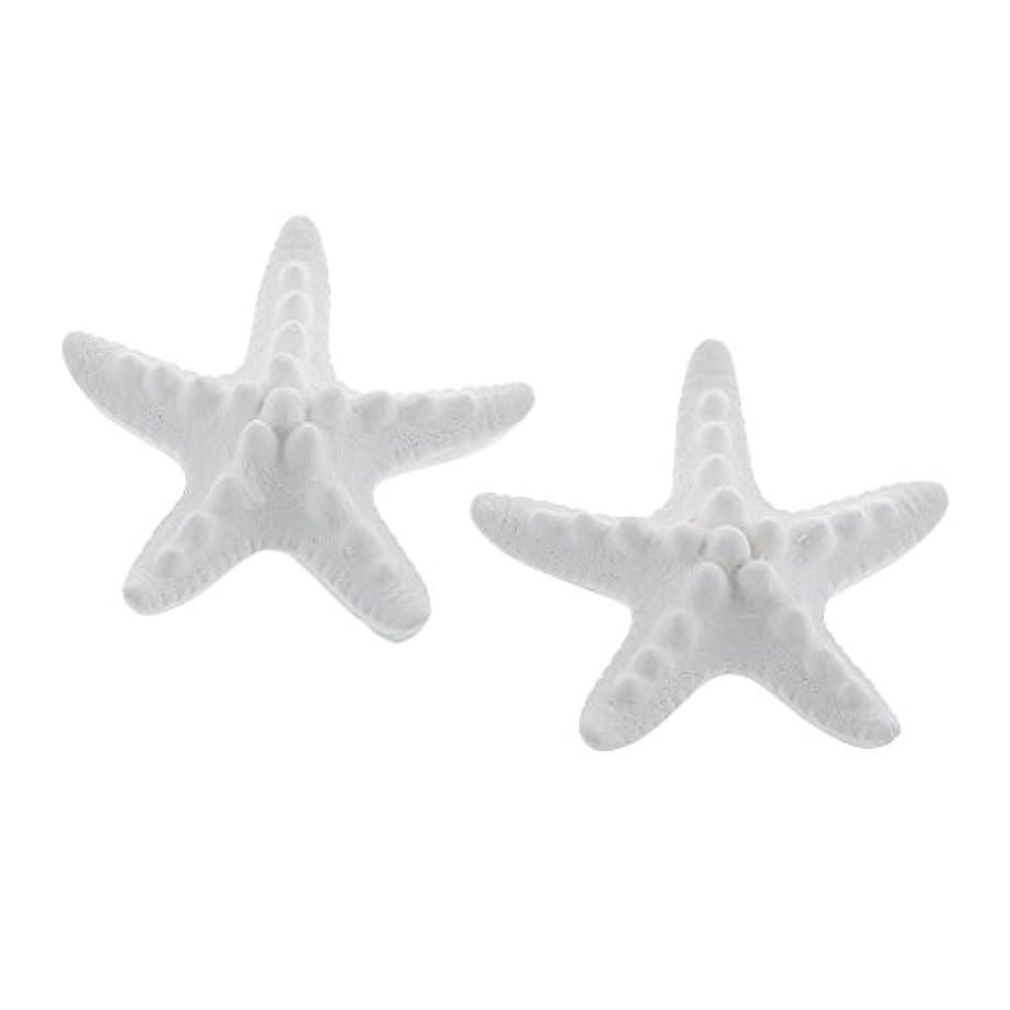トラフィックミネラルモール家の装飾のための2個のSeastarの香りの芳香の石DIYの精油の拡散器