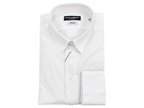 カッターシャツ QG5371 25456 80001 ホワイト ドルチェ&ガッバーナ