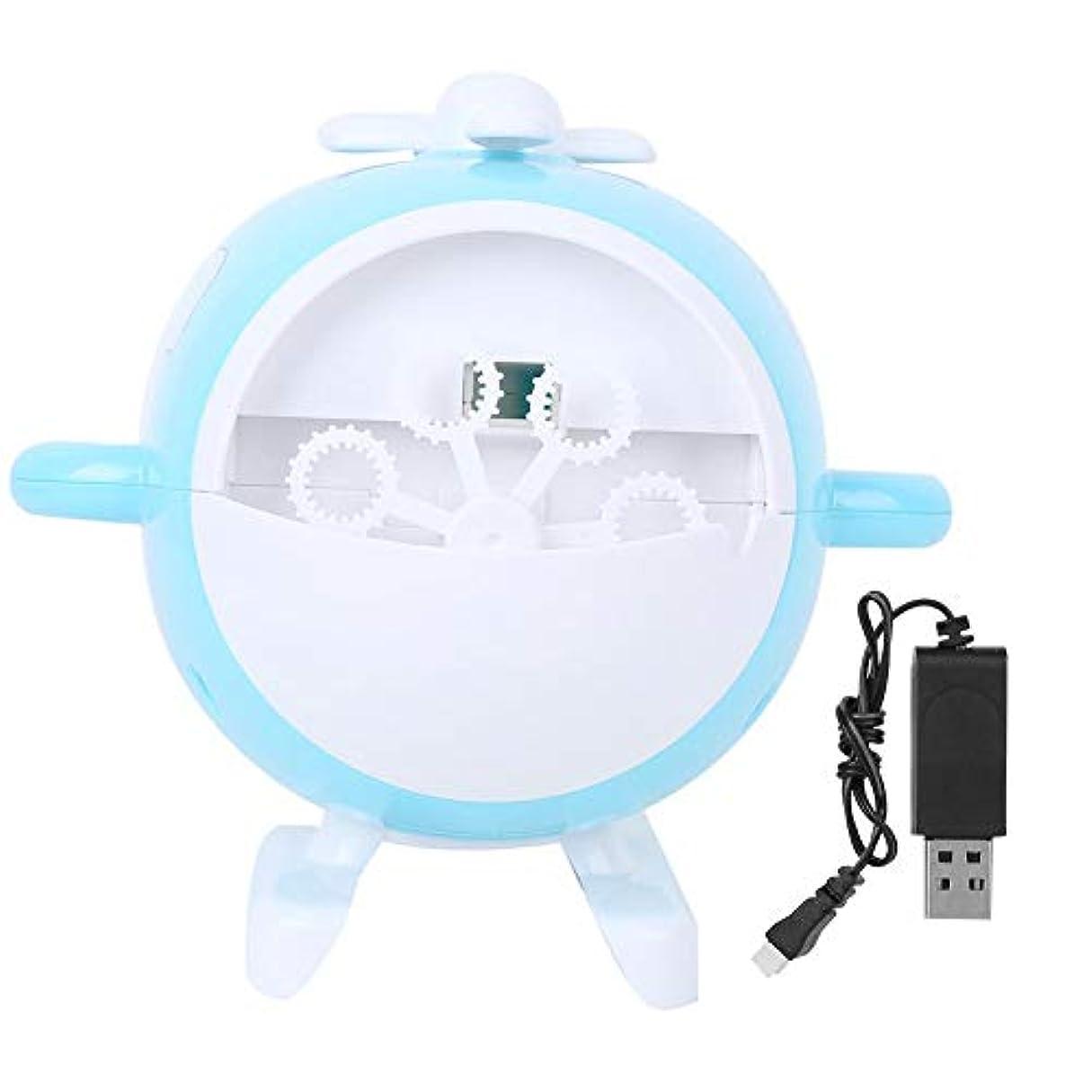 便宜パンツ音楽家泡送風機、泡メーカー、子供向け、環境に優しい、誕生日パーティー用の耐久性アウトドア(Blue (chargeable version))