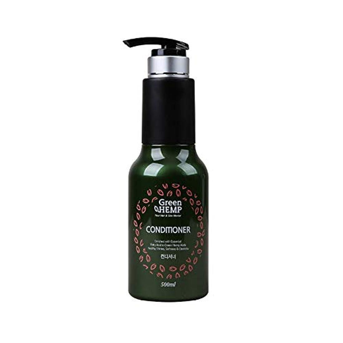 オーバーコートモナリザ汚染ChungSam グリーン ヘンプ 麻 Green hempヘア ケア コンディショナー (500ml) [並行輸入品]