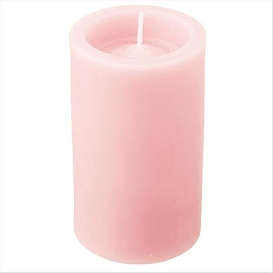 説得タバコ申し立てカメヤマキャンドル( kameyama candle ) ロイヤルラウンド50 「 ライトピンク 」