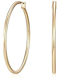 MESTIGE Golden Kira Hoop Earrings, Gift