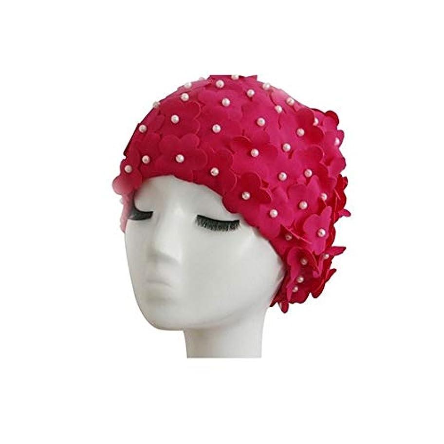 悪化させるうねる脱走SMXGF シャワーキャップ、女性のすべての髪の長さと厚さのためのレディースシャワーキャップデラックスパーソナリティシャワーキャップ - 防水やカビ耐性、再利用可能なシャワーキャップ。 (Color : 1)