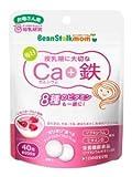 【セット品】ビーンスタークマム 毎日カルシウム+鉄 40粒 (20日分)×3袋セット