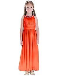 5f5e4cc931f7d Happy Rose 子供ドレス パーティー エレガント ロングドレス 女の子ドレス フォーマルドレス 結婚式 発表会
