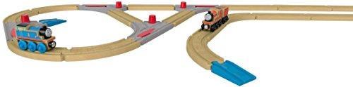 [해외]토마스 나무 레일 시리즈 디럭스 확장 레일 세트 FKF55/Thomas the Tank Engine wooden rail series Deluxe extended rail set FKF 55
