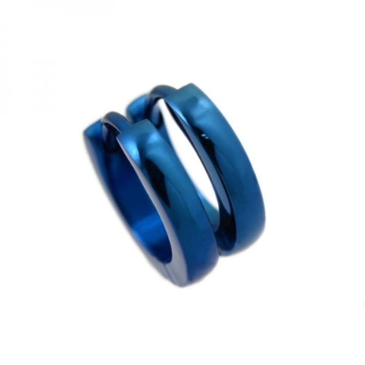 汚染された衣服テロ(オールジュエリー) AllJewelry ステンレス 2.5mm幅スナップ ブルー ptp5730004