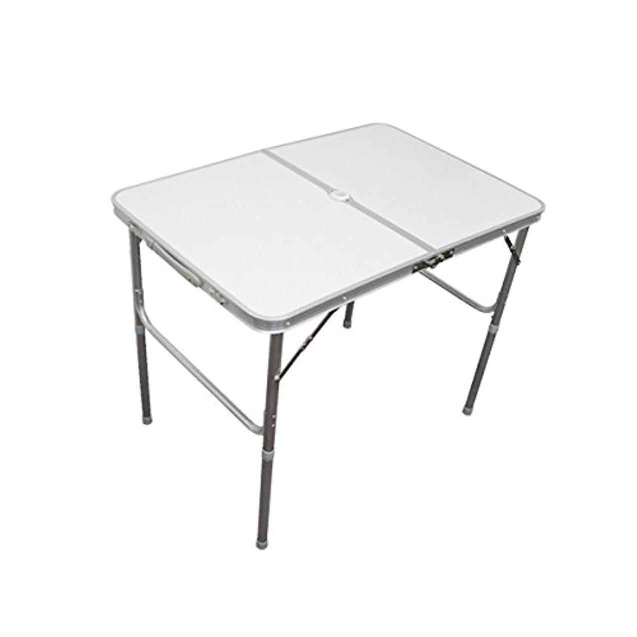 発音する簡単に含意MERMONT アルミレジャーテーブル 折りたたみ テーブル アウトドア テーブル ピクニックテーブル キャンプ フェス 運動会 に [幅 90cm]