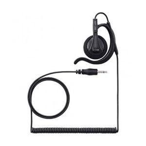 アイコム トランシーバー用 耳掛け型イヤホン 黒 2.5φ SP-28