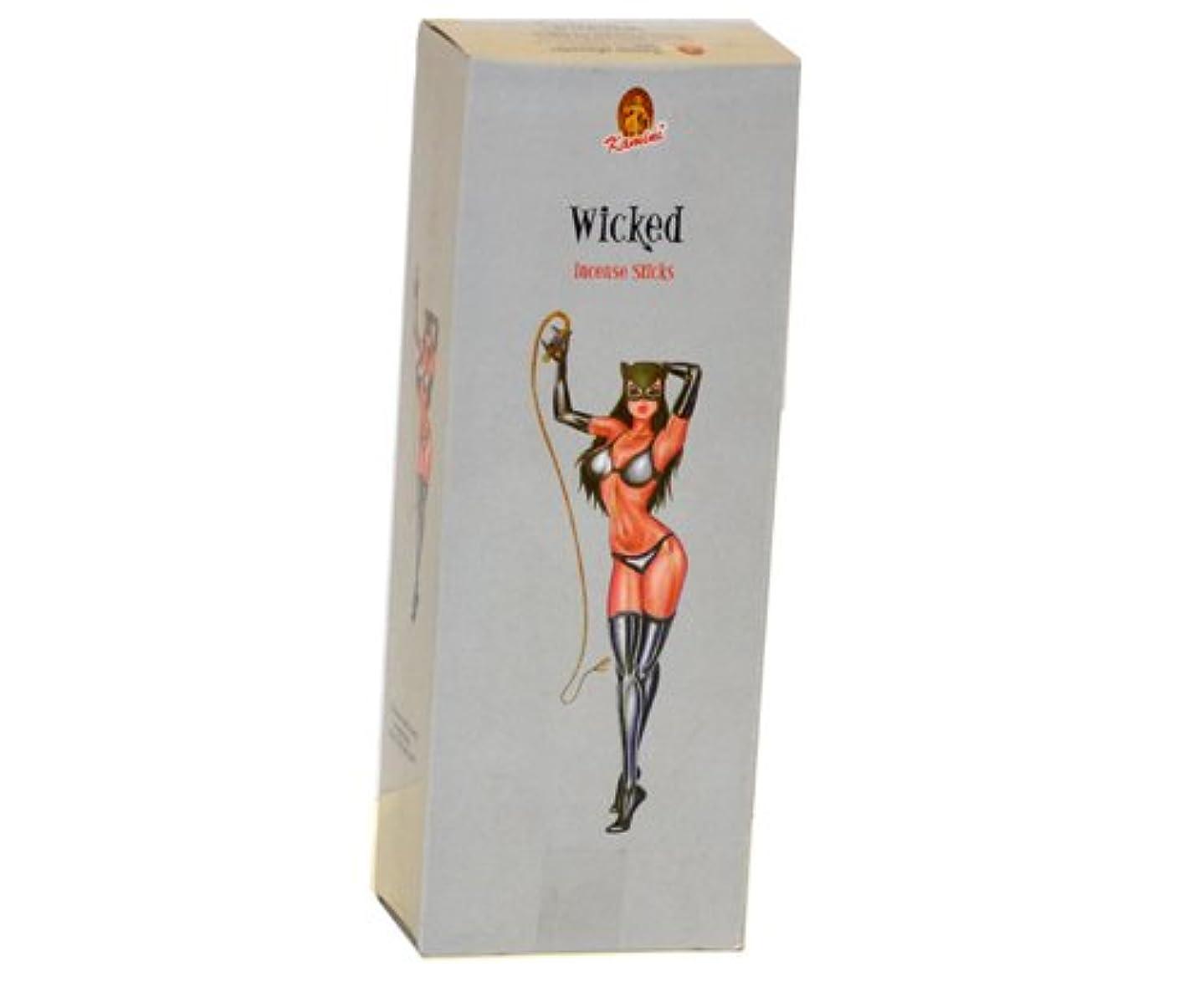 政治的トースト靄Kamini Wicked 6六角ボックスの20 Sticks 120 Sticks合計