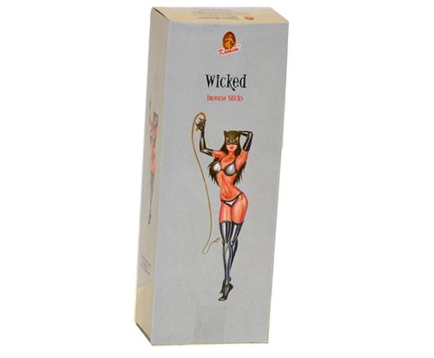 Kamini Wicked 6六角ボックスの20 Sticks 120 Sticks合計