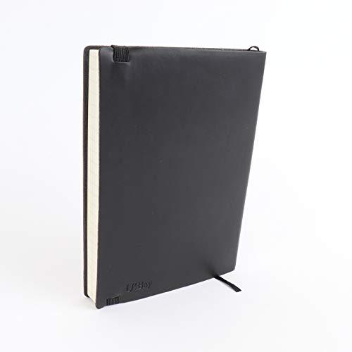 U'Bay ビジネスノート パスポートサイズ 方眼タイプ 合皮カバー クラシックノート 使いやすい 柔らかい ポ...