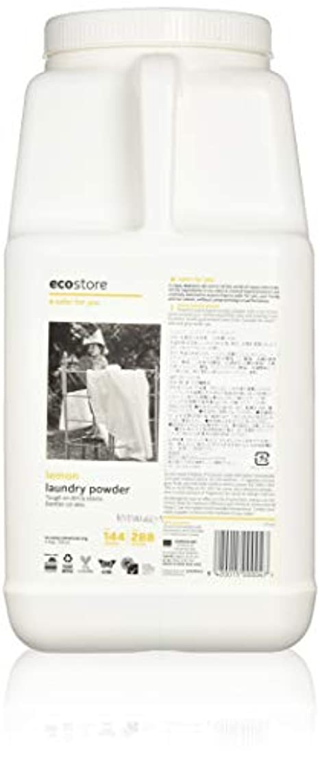 責食欲偽造ecostore エコストア ランドリーパウダー  【レモン】大容量 4.5kg 洗濯用 粉末 洗剤