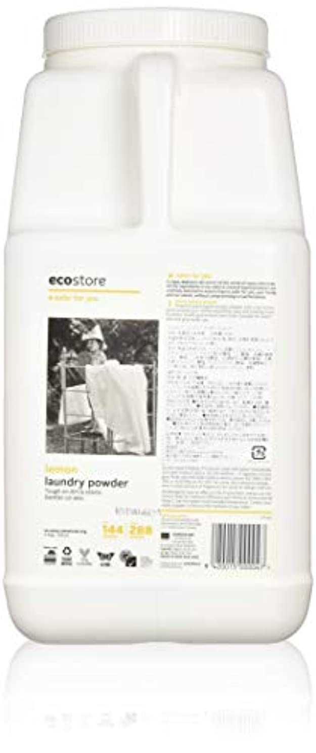 ゴールド屈辱する芸術ecostore エコストア ランドリーパウダー  【レモン】大容量 4.5kg 洗濯用 粉末 洗剤