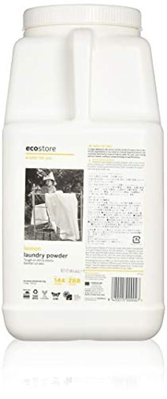 ディスカウント配列道徳ecostore エコストア ランドリーパウダー  【レモン】大容量 4.5kg 洗濯用 粉末 洗剤