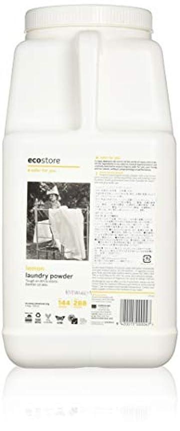 海岸影響を受けやすいです不定ecostore(エコストア) ランドリーパウダー  【レモン】大容量 4.5kg 洗濯用 粉末 洗剤