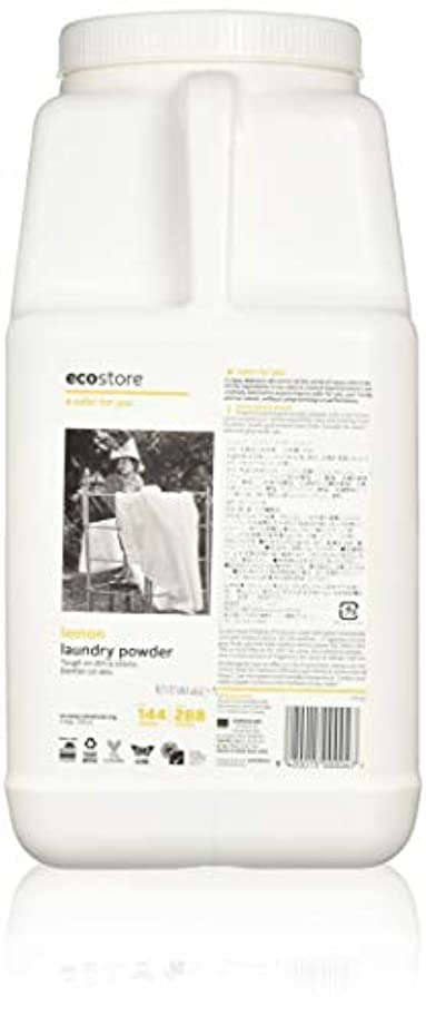 相談チチカカ湖談話ecostore エコストア ランドリーパウダー  【レモン】大容量 4.5kg 洗濯用 粉末 洗剤