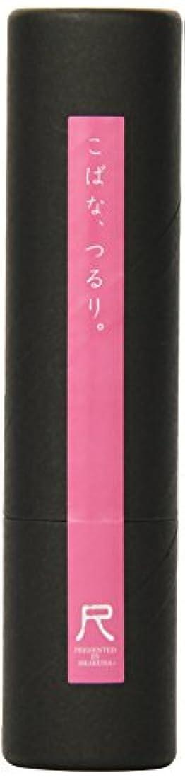 トロリーバス持ってる上院議員熊野筆「尺」小鼻専用洗顔ブラシ ピンク